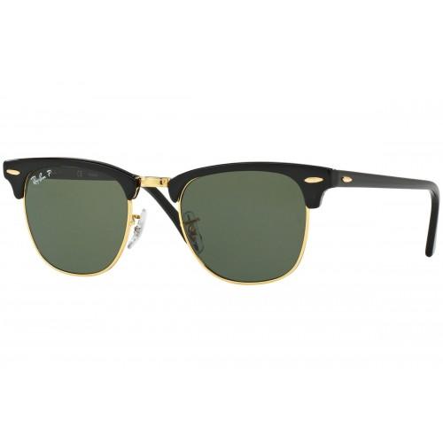 RB3016 901/58 POLARİZE CLUBMASTER-Güneş Gözlükleri-Ray-Ban